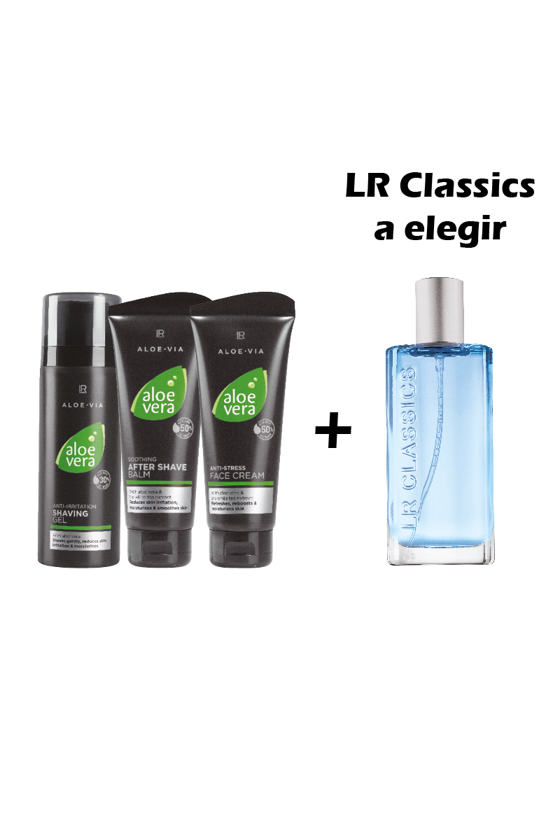 LR ALOE VIA Set II De Afeitado Aloe Vera For Men