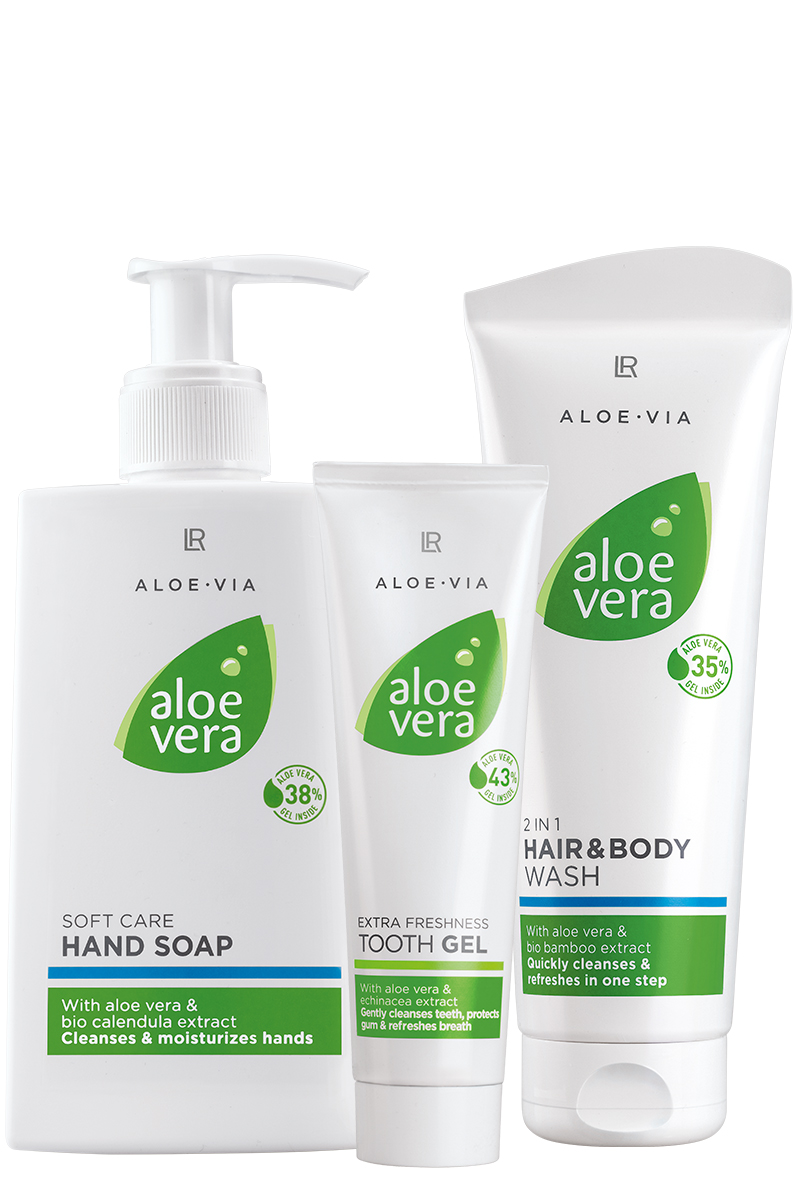 LR ALOE VIA Aloe Vera Care Set Higiene