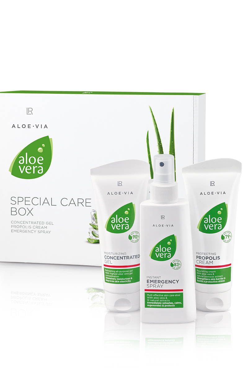 LR ALOE VIA Aloe Via Special Care Box