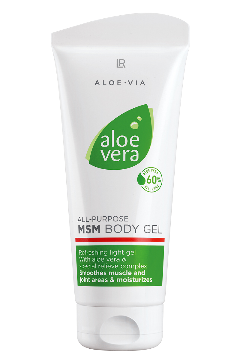 LR ALOE VIA Gel Corporal MSM