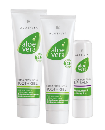 LR ALOE VIA Aloe Vera - Set De Cuidado Facial Y Bucal