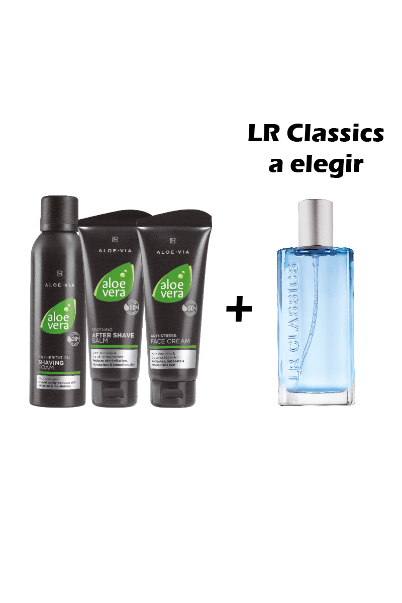 LR ALOE VIA Set De Afeitado I Aloe Vera For Men