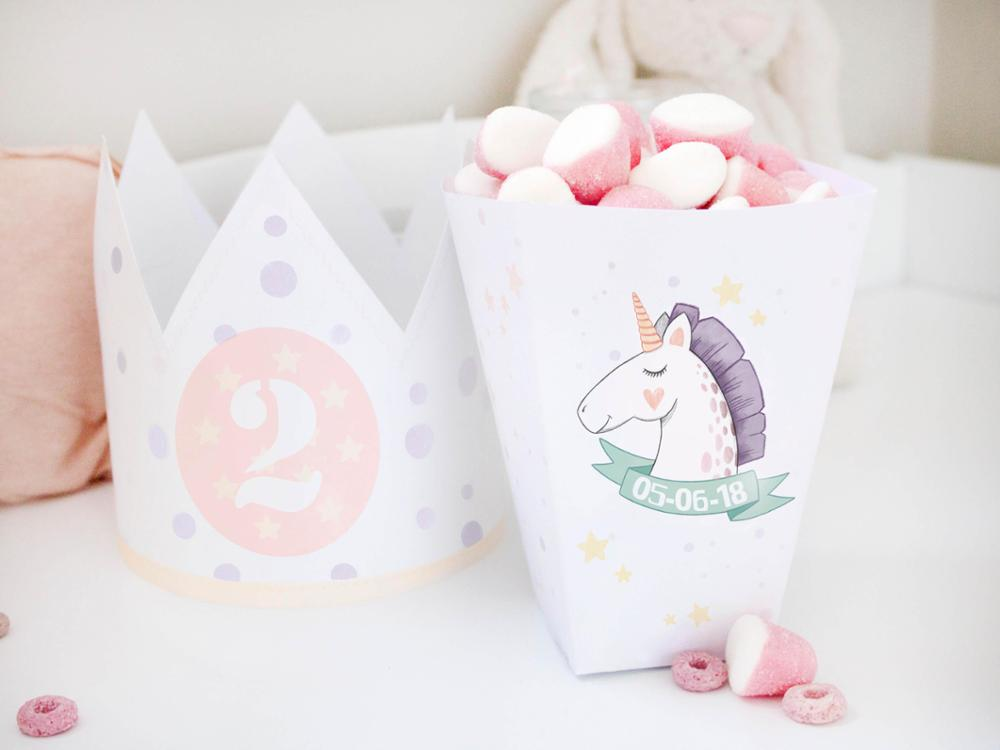 Pack cumple - Unicornio | Cuquina