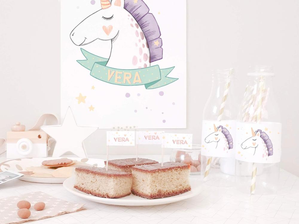 Pack cumple - Unicornio