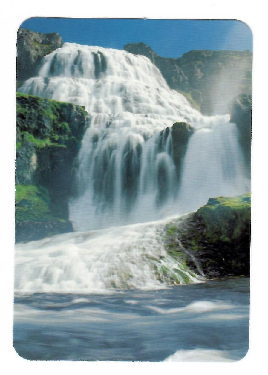 Calendario de bolsillo, 2005 - Tema: cataratas
