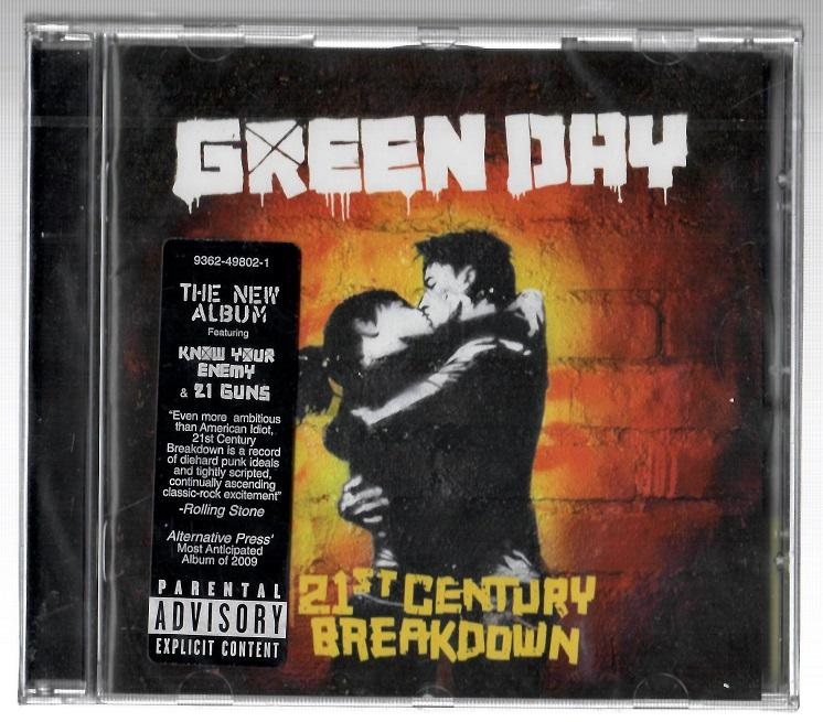 Green Day - 21st Century Breakdown - (Nuevo)