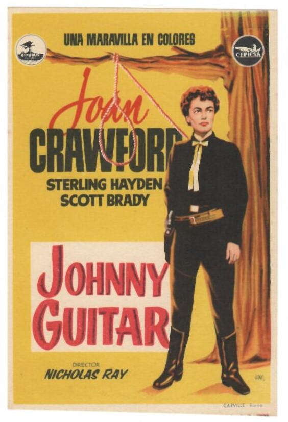 Johnny Guitar (Una maravilla en colores) - John Crawford, Sterling Hayden, Scott Brady, Nicholas Ray