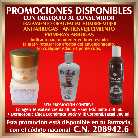 BDV FARMA PROMOCION DISPONIBLE EN TU FARMACIA C.N. 208942