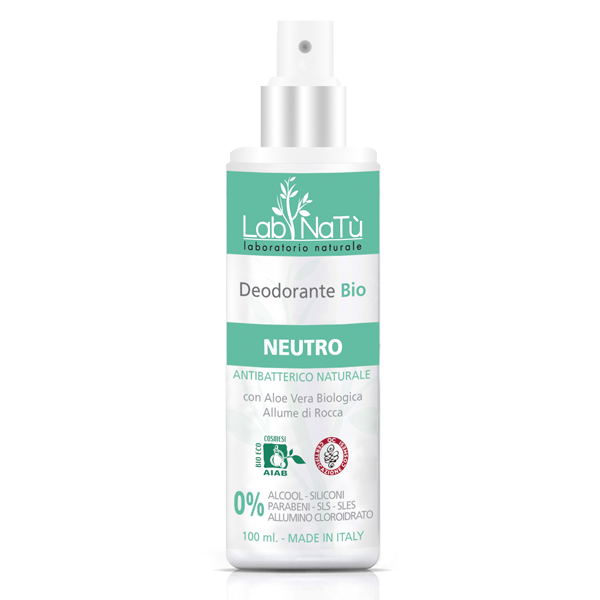 Lab.NaTú NATU DESOD BIO SPRAY NEUTRO 100ML