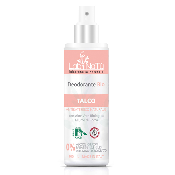 Lab.NaTú NATU DESOD BIO SPRAY TALCO 100ML