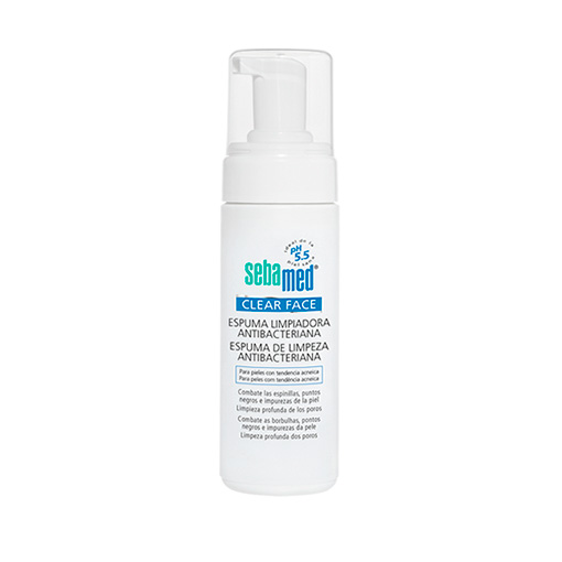 SEBAMED CLEAR FACE ESPUMA LIMPIADIADORA 150 ML