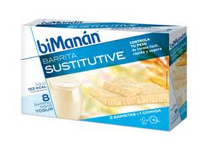 BIMANAN 8 BARRITAS YOGURT
