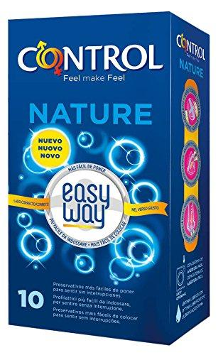 CONTROL Nature Easy Way Preservativos - Pack de 10 preservativos