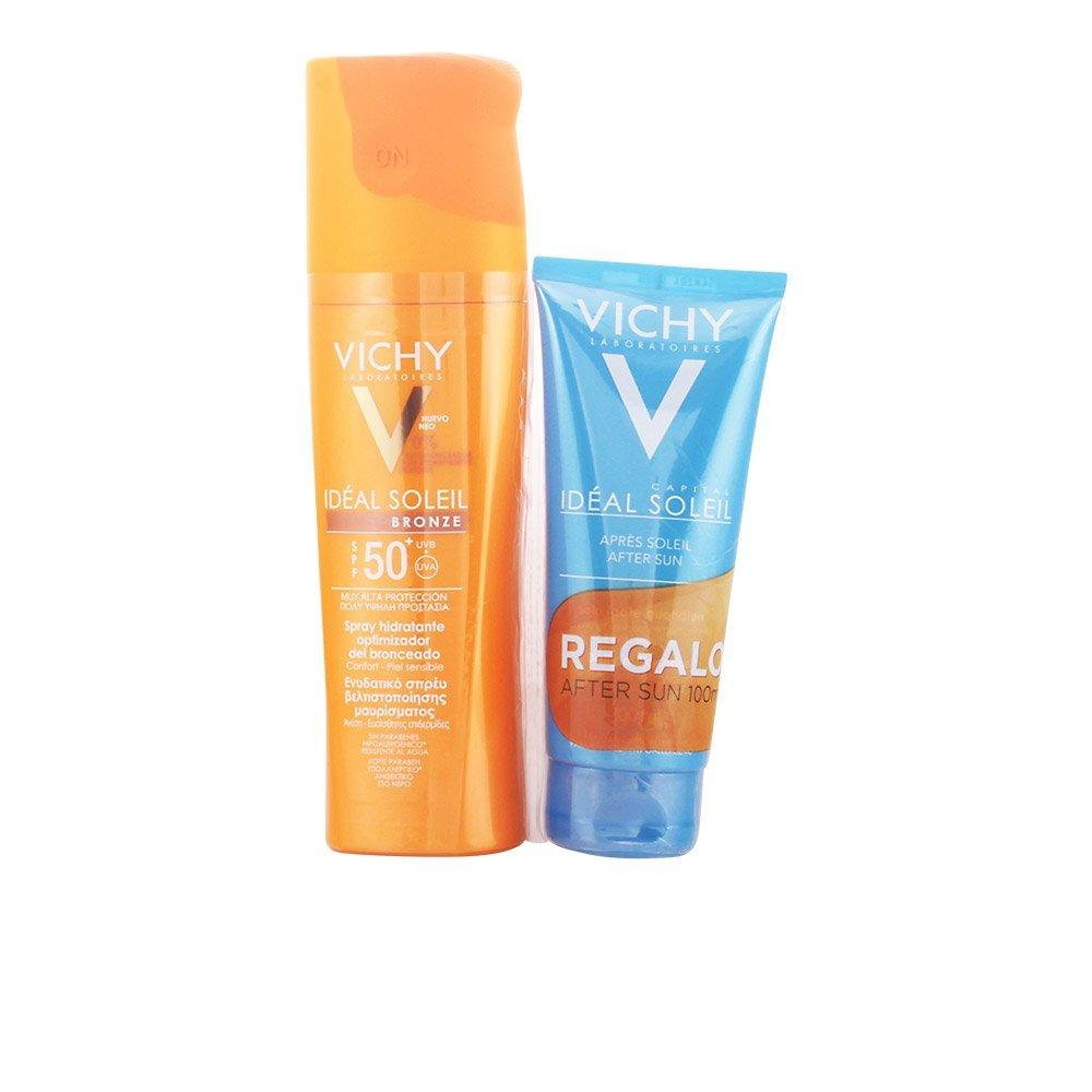 VICHY Vichy Ideal Soleil Spray Bronceador SPF50 + Aftersun - 1 Pack