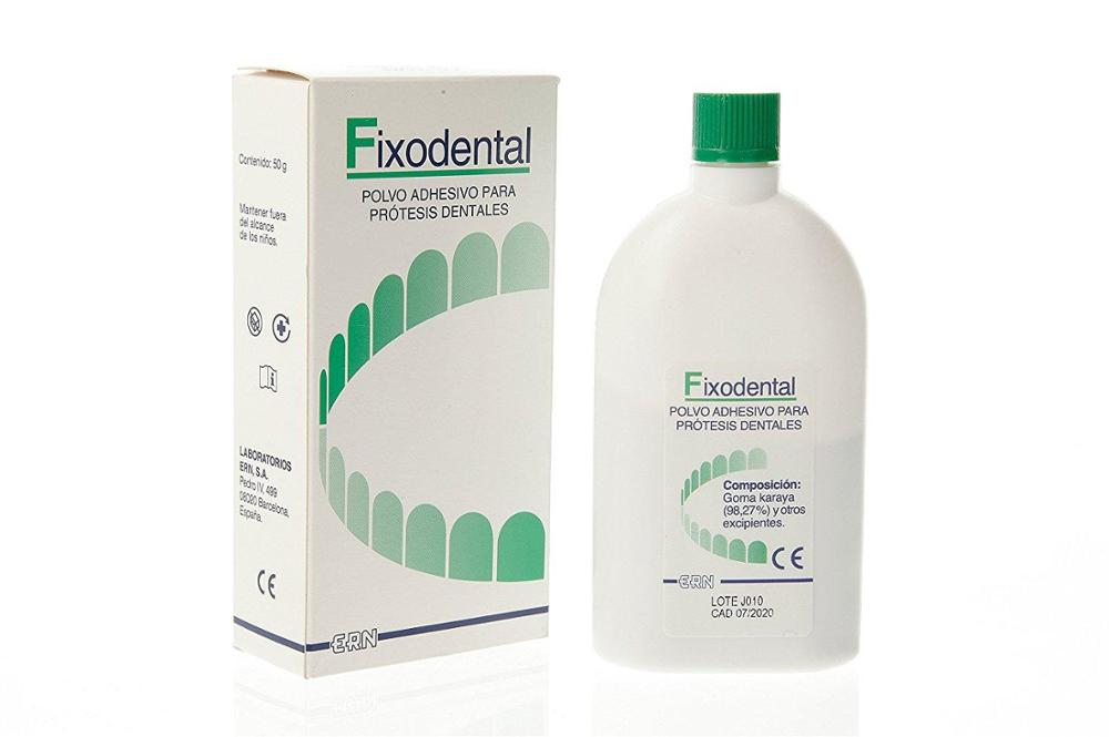 FIXODENTAL FIXODENTAL POLVO TOP. 50 GR.