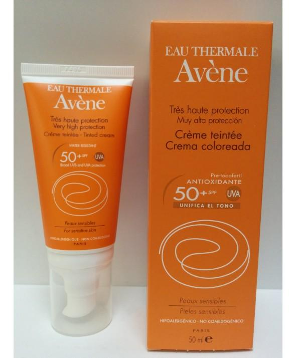 AVÈNE AVENE Crema Coloreada Pieles Sensibles SPF50+ 50ML