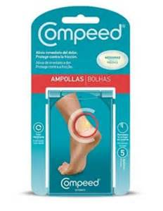 COMPEED APOSITOS AMPOLLAS MEDIANO 5 UNIDADES