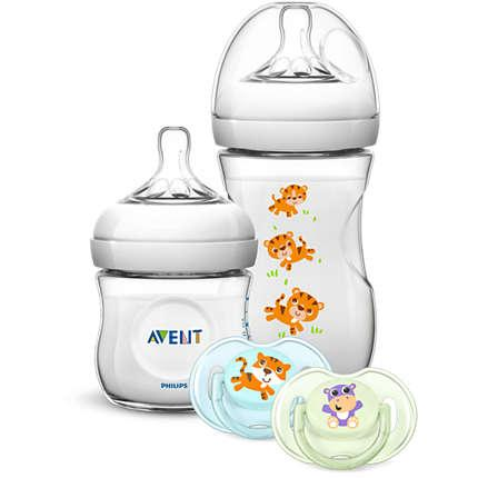 AVENT SET REGALO NATURAL THEMEBOOK SCD289/01