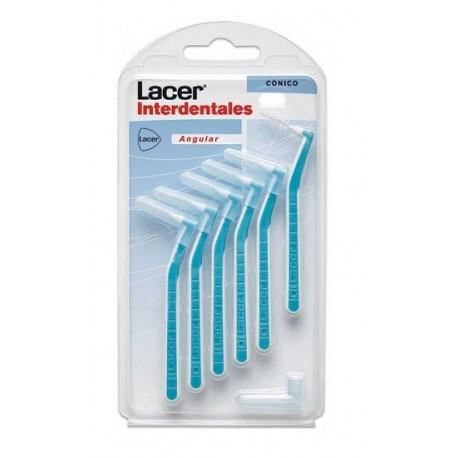 LACER INTERDENTAL CONICO ANGULAR 6 UNIDADES