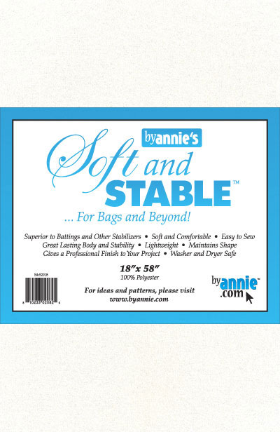 "ByAnnie's Soft and Stable 18"" x 58"" white"