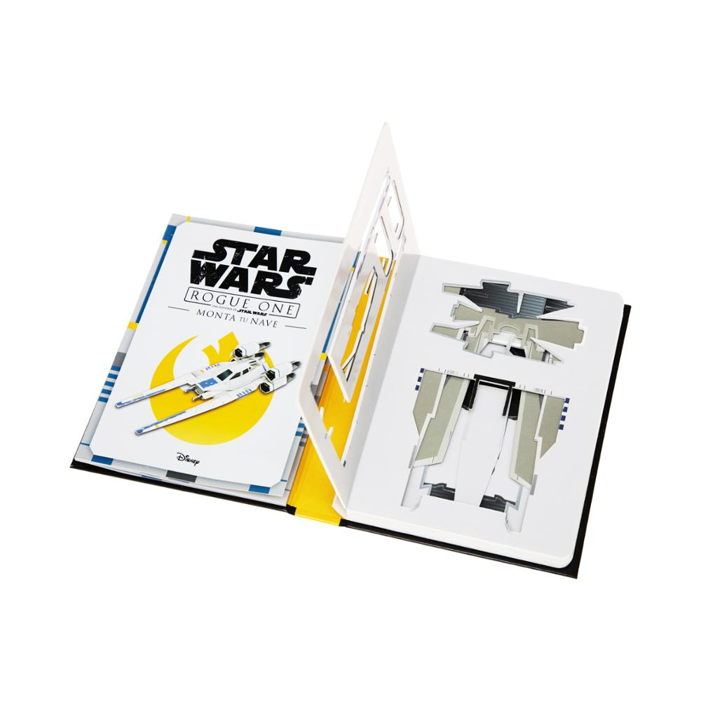 Nave Ala-U Star Wars + Sello Star Wars