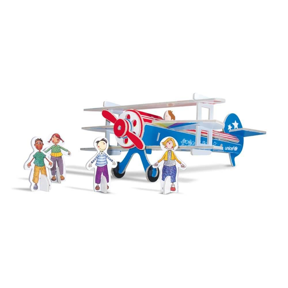 Puzzle 3D Happy Plane UNICEF