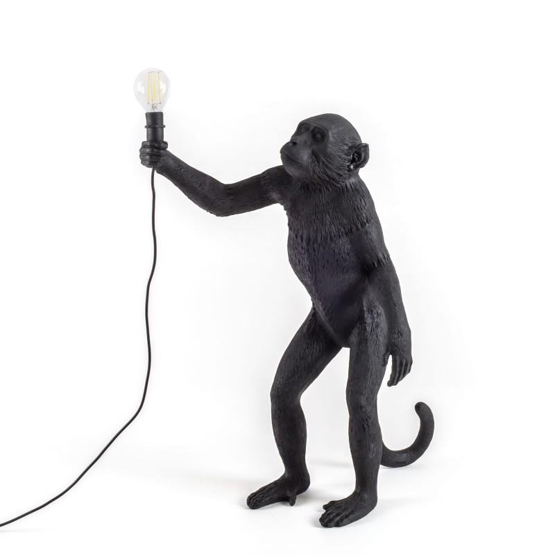 Monkey lamp de Pie