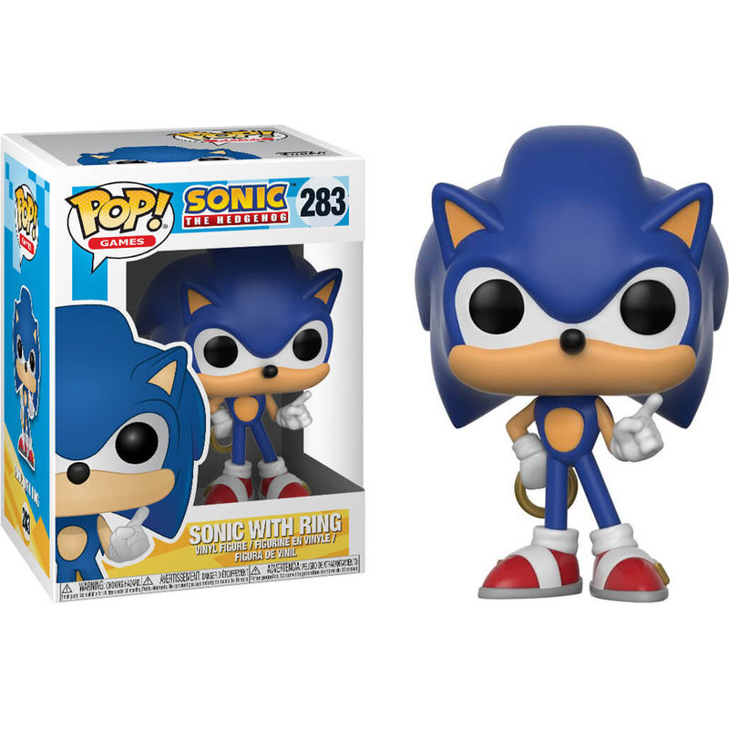 Sonic with ring