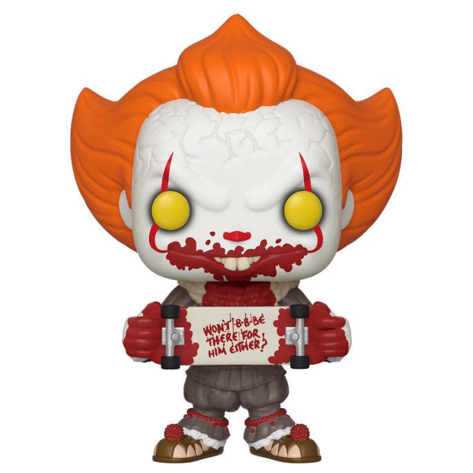 Pennywise con monopatin