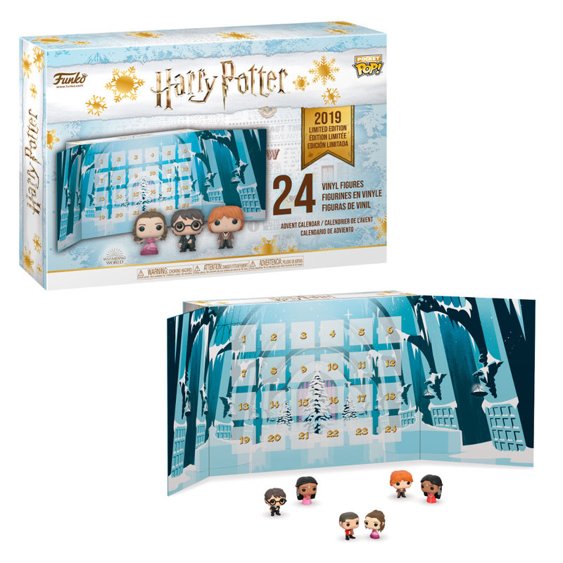 (BAJO PEDIDO) Calendario adviento Harry Potter