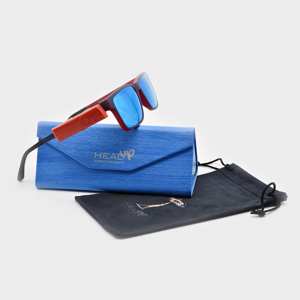 HeadUp calibre 53 con funda y estuche - Head Up Energy Glasses
