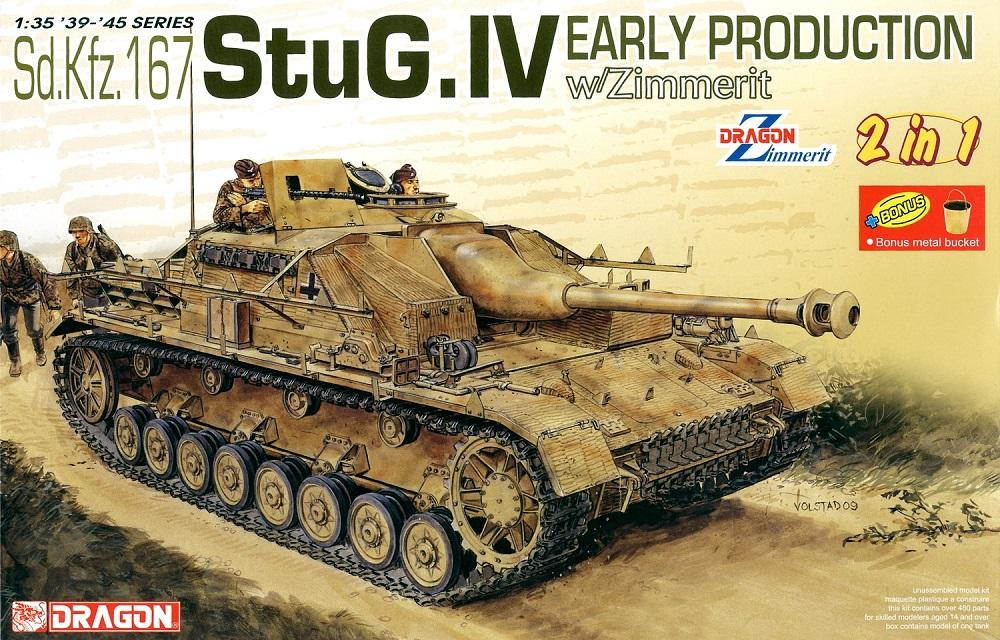 DRAGON 6615 German StuG.IV with Zimmerit 'Early Production'