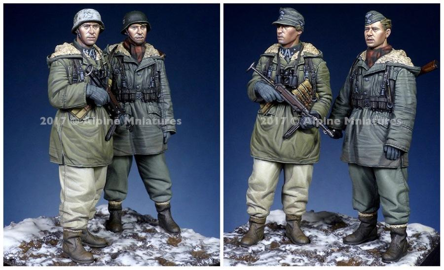 ALPINE MINIATURES 35237 WSS Grenadiers at Kharkov Set
