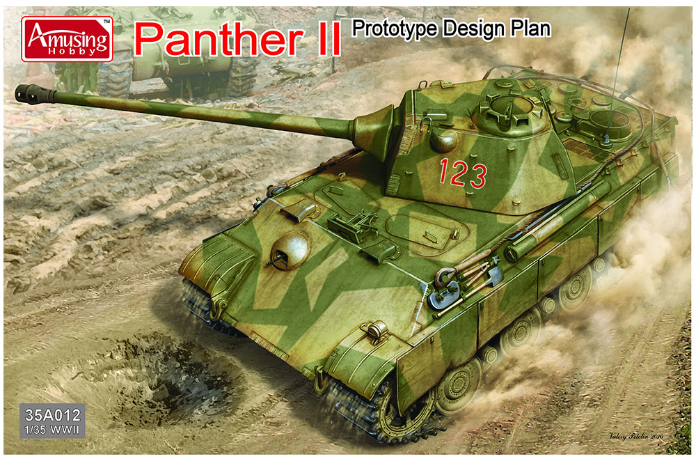 AMUSING HOBBY 35A012 Panther II Prototype Design Plan