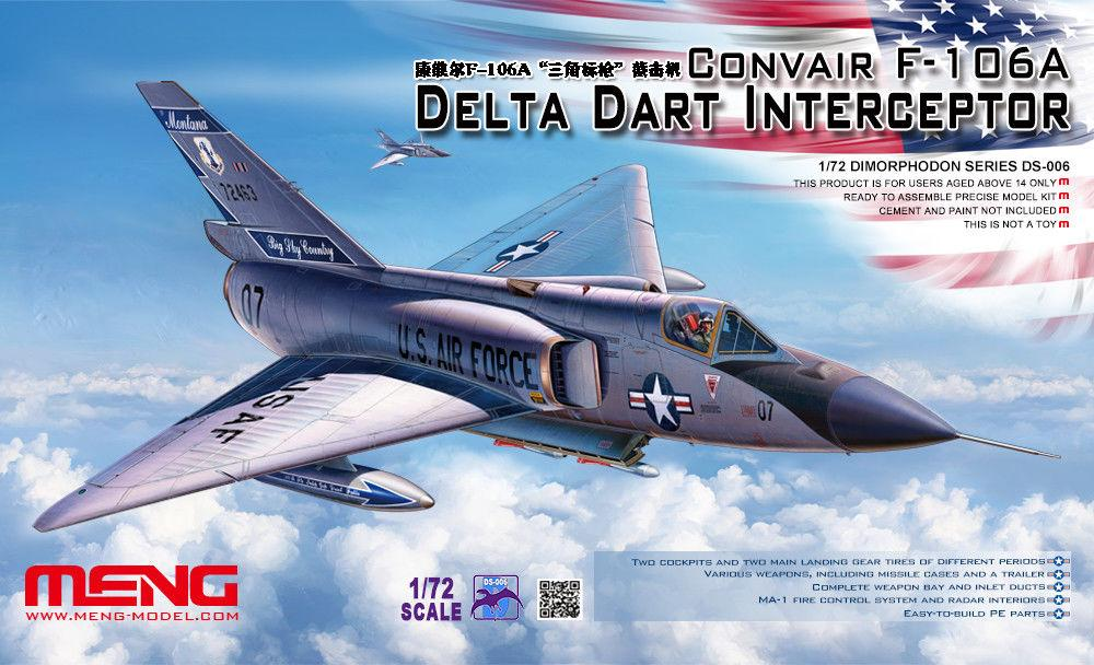 MENG MODEL DS006 Convair F-102A Delta Dart Interceptor