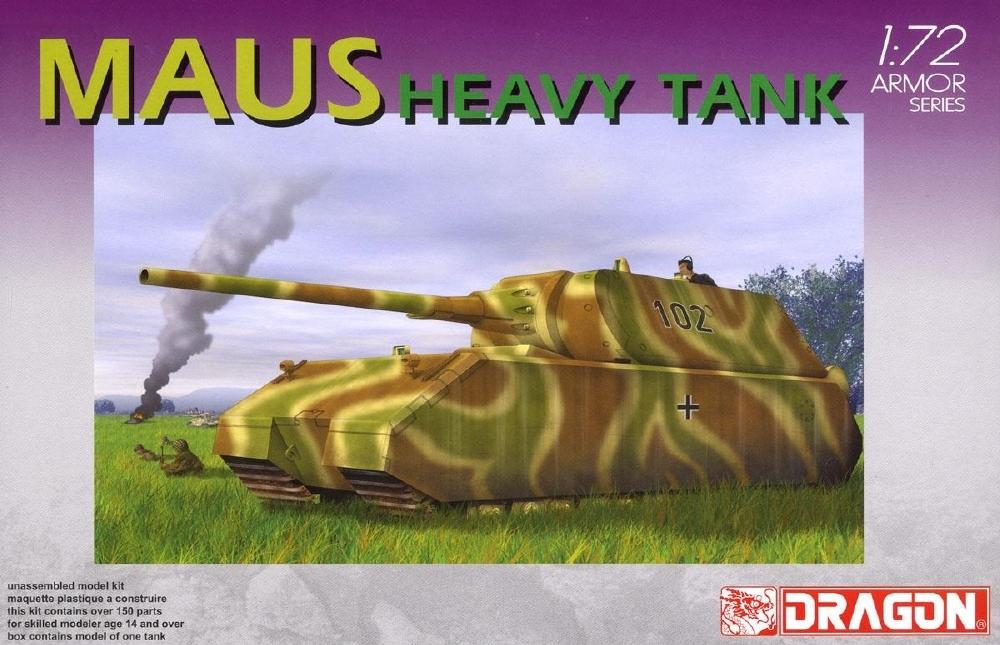 DRAGON 7255 German Heavy Tank 'Maus'