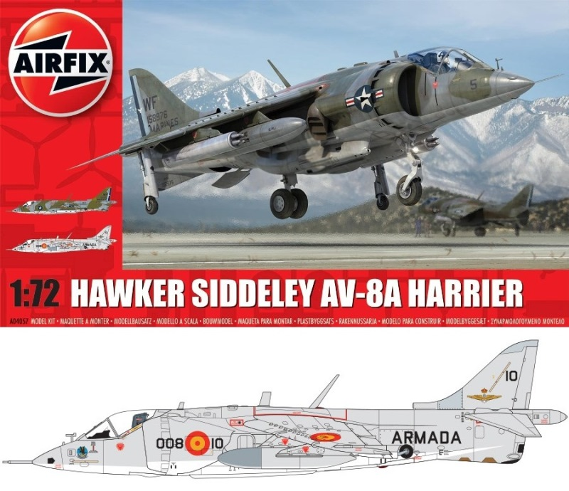 AIRFIX 04057 Mc Donnell-Douglas AV-8A 'Harrier'