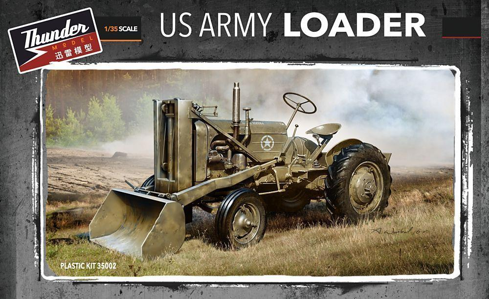 THUNDER MODEL 35002 U.S. Army Loader (Bulldozer)