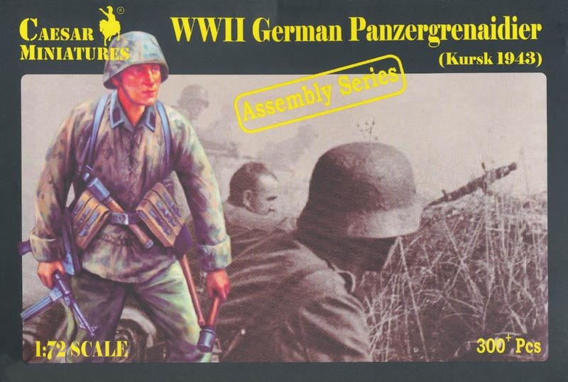 CAESAR MINIATURES 7715 German Panzergrenadier (Kursk, 1943)