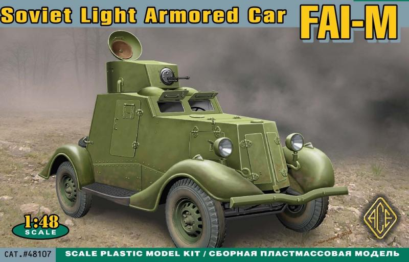ACE 48107 Soviet Light Armoured Car FAI-M (WWII)