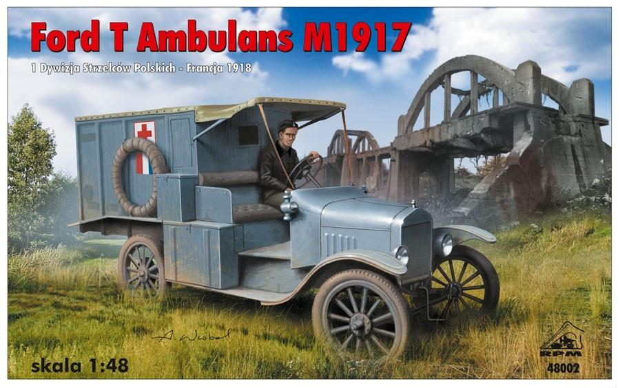 RPM 48002 Ford T Ambulance M1917