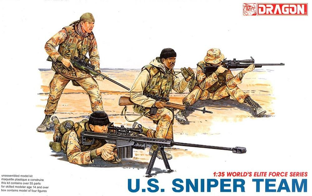 DRAGON 3016 U.S. Sniper Team