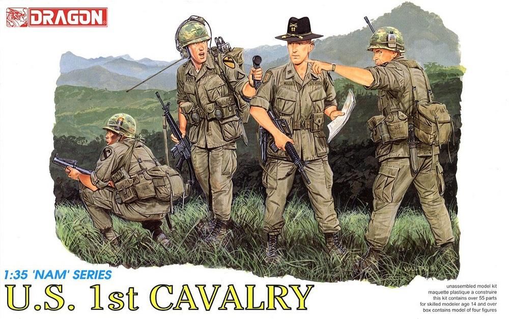 DRAGON 3312 U.S. First Cavalry (Vietnam War)