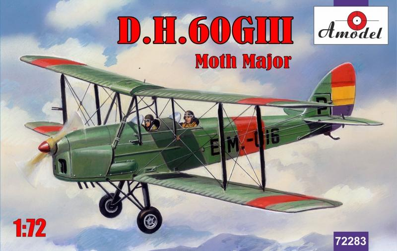 AMODEL 72283 de Havilland D.H.60GIII Moth Major (Spanish Republic A.F.)