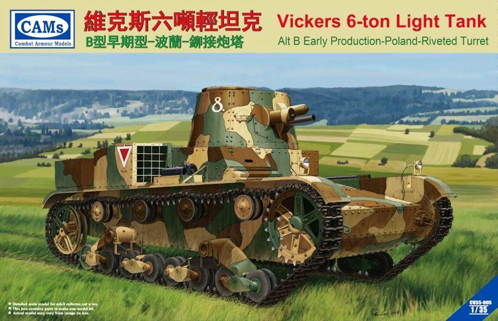 CAMS CV35005 Vickers 6-Ton Light Tank Alt B  'Early' (Poland)
