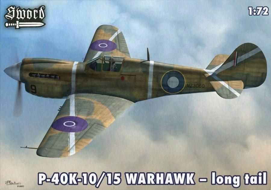 SWORD 72065 Curtiss P-40K-10/15 'Warhawk' (Long Tail)