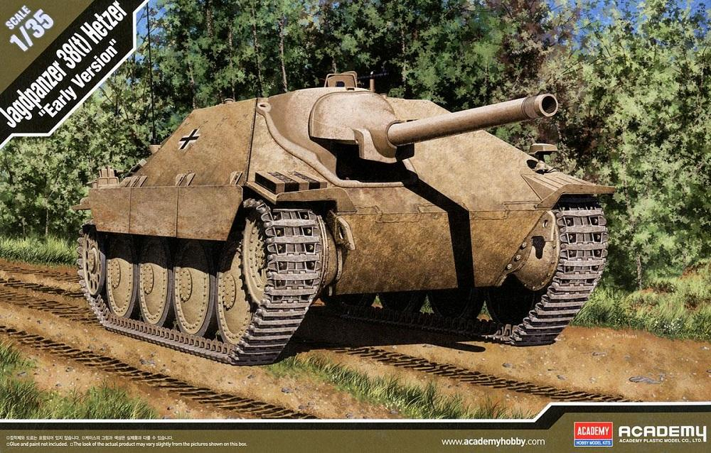 ACADEMY 13278 German Jagdpanzer 38(t) 'Hetzer' (Early)