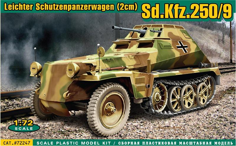 ACE 72247 German Sd.Kfz.250/9
