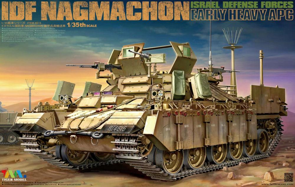 TIGER MODEL 4615 Israel Defense Forces Nagmachon (Early Heavy APC)