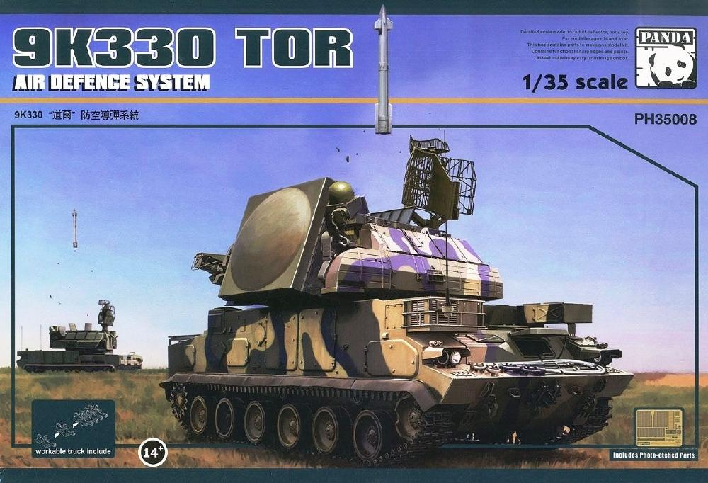 PANDA HOBBY 35008 Russian Air Defence System 9K330 Tor
